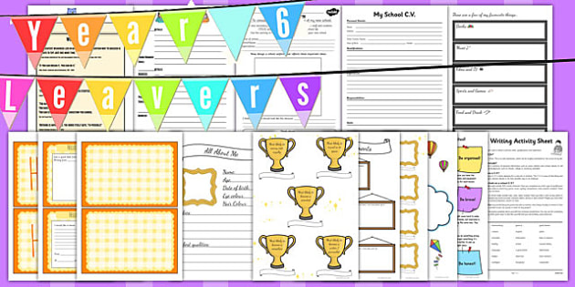 Year 6 Transition Resource Pack - year 6, transition, resource