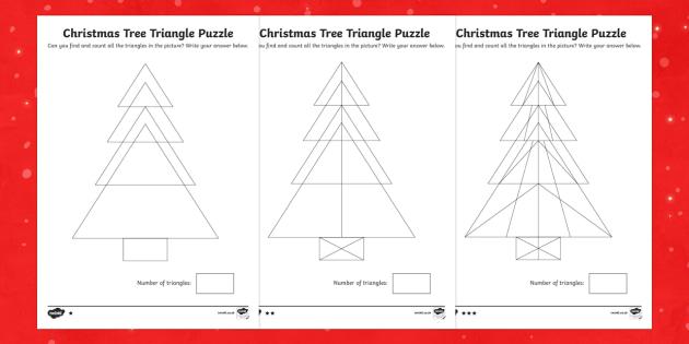 Tree Triangles Activity