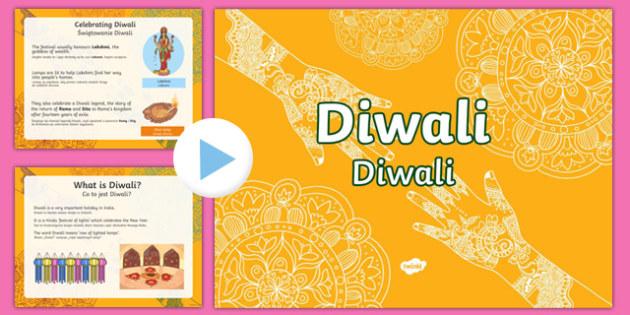 Diwali Powerpoint Polish Translation