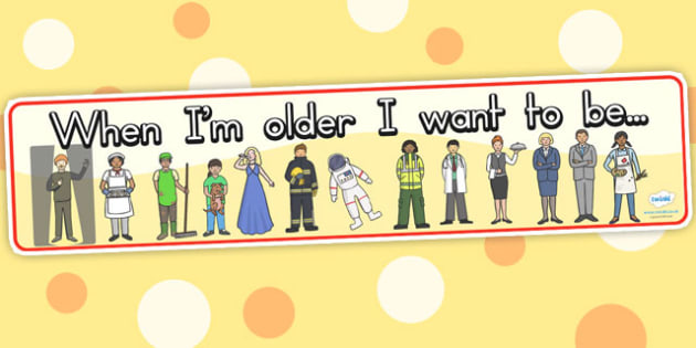 When Im Older Display Banner - ourselves, future, banner, display