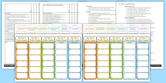 Year 3 Maths Assessment Pack - math, numeracy, assessment, assess