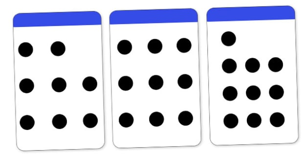 Count the Spots Activity Cards (1-10) - education, home fun, free