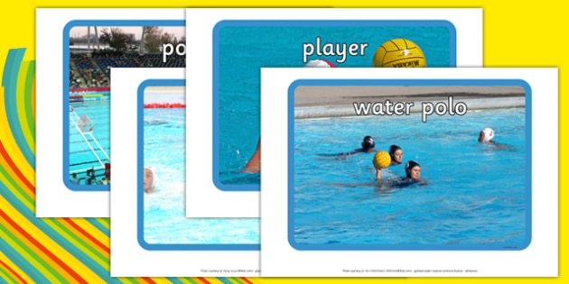 The Olympics Water Polo Display Photos - Water Polo, Olympics, Olympic Games, sports, Olympic, London, 2012, display, photo, photos, poster, sign, banner, activity, Olympic torch, events, flag, countries, medal, Olympic Rings, mascots, flame, compete