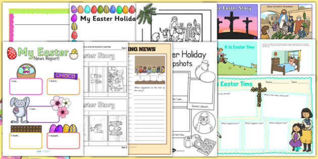Top 10 Easter Writing Resources - top ten, easter, resources, writing