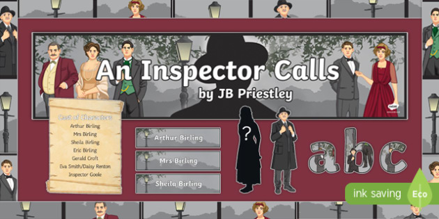 An Inspector Calls Display Pack