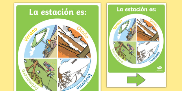 Season Display Chart Spanish-Spanish