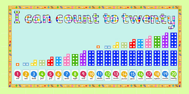Ready Made 'I Can Count to Twenty' Display Pack - ready made