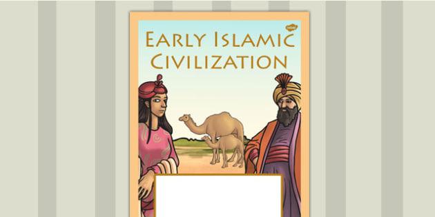 Early Islamic Civilisation Book Cover - islam, folder cover, book