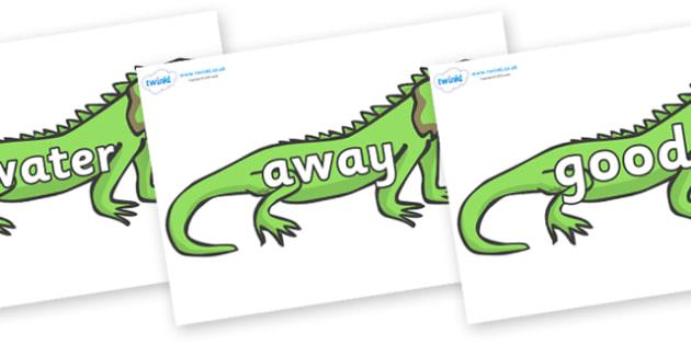 Next 200 Common Words on Iguanas - Next 200 Common Words on  - DfES Letters and Sounds, Letters and Sounds, Letters and sounds words, Common words, 200 common words