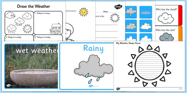 Top Ten Weather Activity Pack