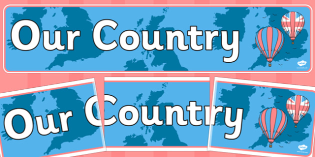 Our Country UK Display Banner - our, country, uk, display, banner