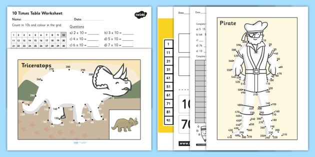 Counting in 10s Resource Pack - counting, resource, pack, count