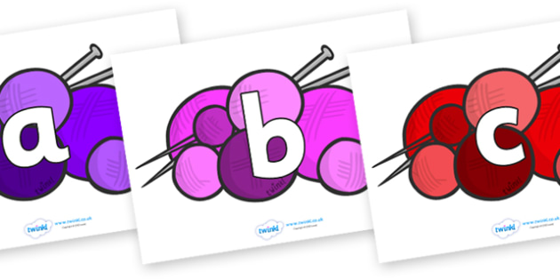 Phoneme Set on Balls of Wool - Phoneme set, phonemes, phoneme, Letters and Sounds, DfES, display, Phase 1, Phase 2, Phase 3, Phase 5, Foundation, Literacy