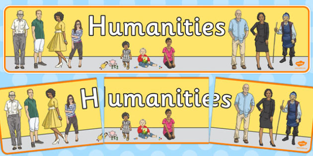 Humanities Display Banner - humanities, display banner, display, banner