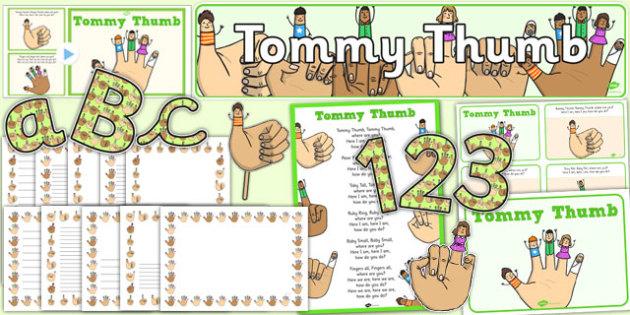 Tommy Thumb Resource Pack - tommy thumb, resource pack, resource