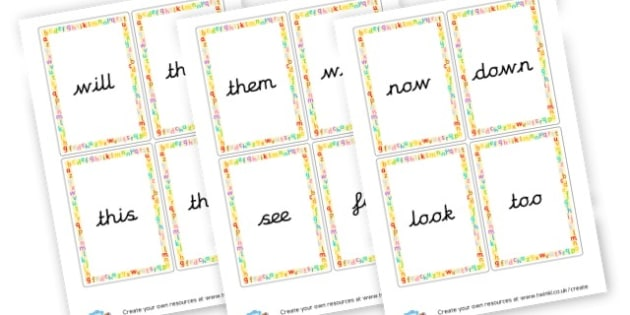 Phase 3 High Frequency Words - Phase 3 Visual Aids Primary Resources, Phase One, Letters, sounds