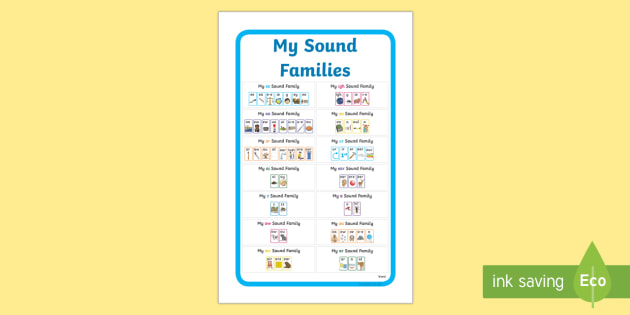 IKEA Tolsby My Sound Families Prompt Frame - ikea tolsby, ikea, tolsby, prompt frame, prompt, frame, my sound families, family