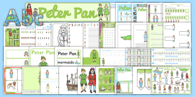 Peter Pan Resource Pack - packs, resources, traditional, tales