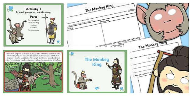 The Monkey King Presentation Teaching Pack - teaching, pack