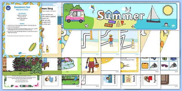 Childminder Summer Resource Pack