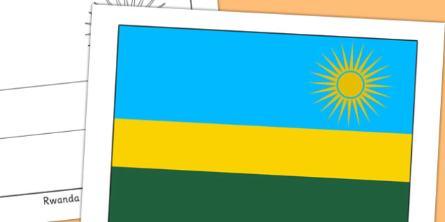 Rwanda Flag Display Poster - countries, country, geography