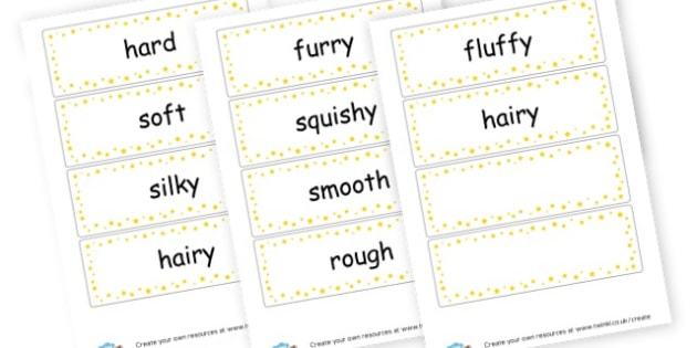 Sense of touch words EYFS - My Senses Literacy Primary Resources, five senses, smell, sight