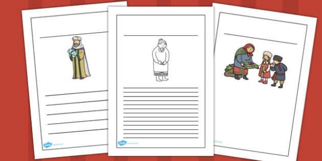 Babushka Writing Frames - babushka, writing frames, writing
