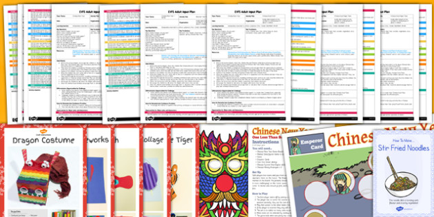 EYFS Chinese New Year Adult Input Planning and Resource Pack