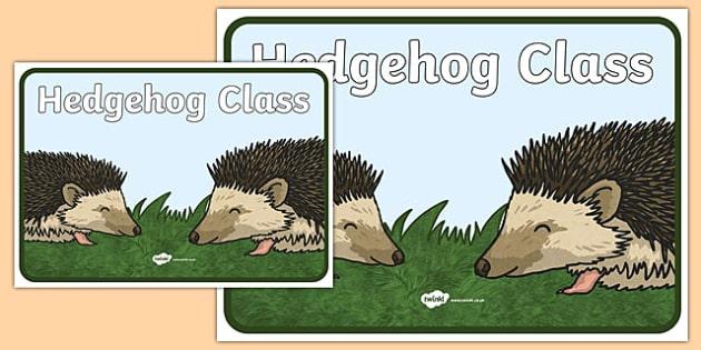 Hedgehog Class Display Poster - hedgehog, class, display poster, display, poster, hedgehog class