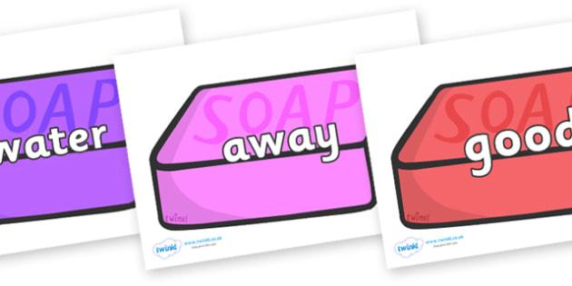 Next 200 Common Words on Soap (Multicolour) - Next 200 Common Words on  - DfES Letters and Sounds, Letters and Sounds, Letters and sounds words, Common words, 200 common words