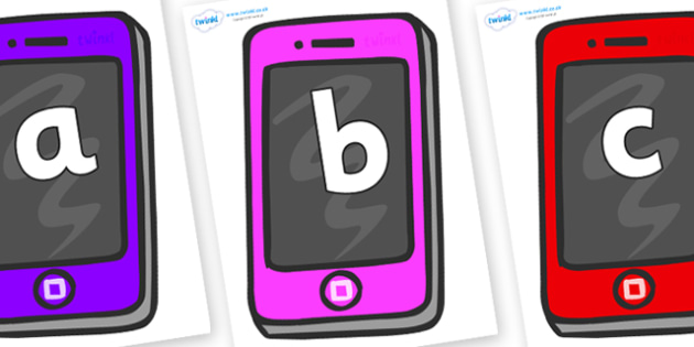 Phoneme Set on Mobile - Phoneme set, phonemes, phoneme, Letters and Sounds, DfES, display, Phase 1, Phase 2, Phase 3, Phase 5, Foundation, Literacy