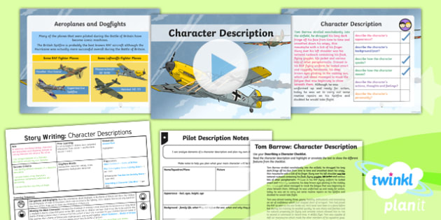 PlanIt Y5 World War II: Battle of Britain Lesson Pack Story Writing (1)