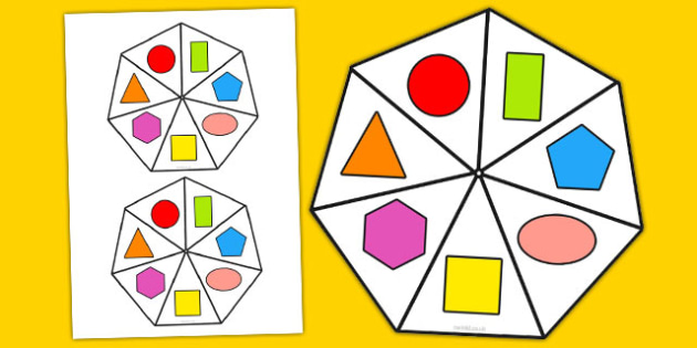 2D Shape Spinner - 2d shape, spinner, 2d, shape, numeracy, maths