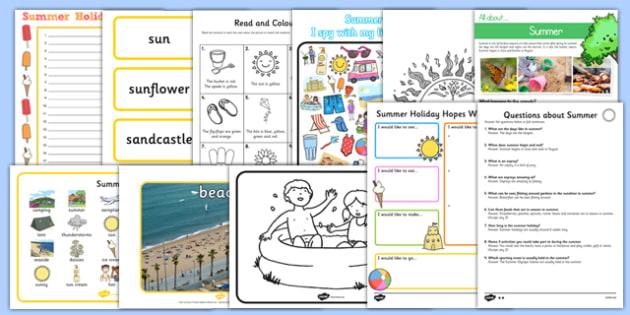 Top 10 Summer Resource Pack