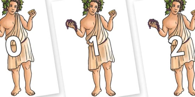 Numbers 0-31 on Dionysus - 0-31, foundation stage numeracy, Number recognition, Number flashcards, counting, number frieze, Display numbers, number posters
