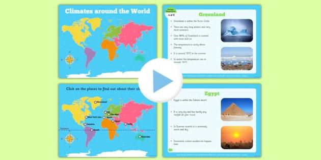 KS2 Around the World, Geography, Around the World, KS2 Geography