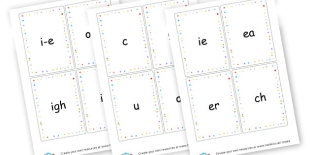 Phonic Flashcards - EAL Phonics Primary Resources - EAL, phonics, sounds