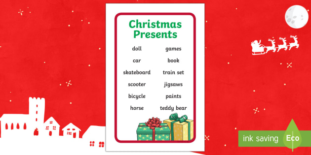 Ikea Tolsby Christmas Presents Prompt Frame