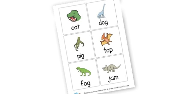 CVC Reading Dinosaur Cards - CVC Words Literacy Primary Resources -  Primary Resources, CVC, c
