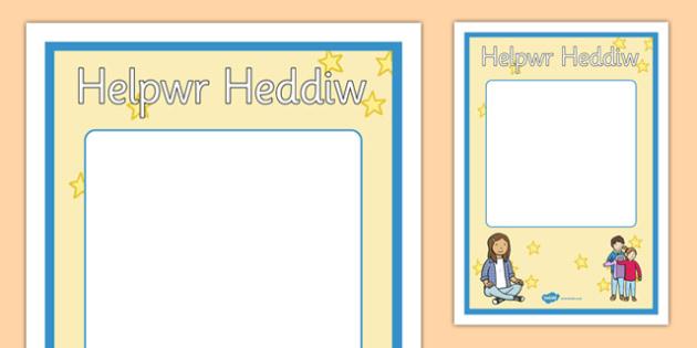 Helpwr Heddiw -
