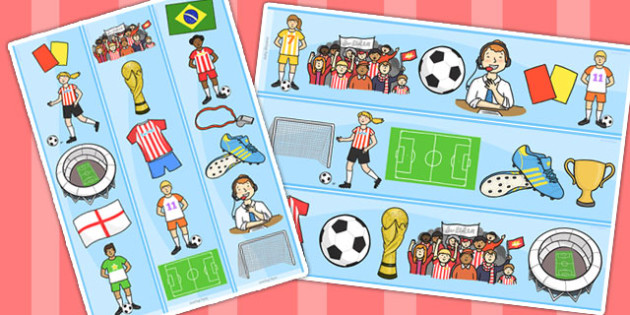 Football World Cup Display Borders - football, world cup, borders