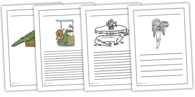 Clever Trick Writing Frames to Support Teaching on The Enormous Crocodile - the enormous crocodile, clever trick, writing frames, writing aids, writing guides, writing templates