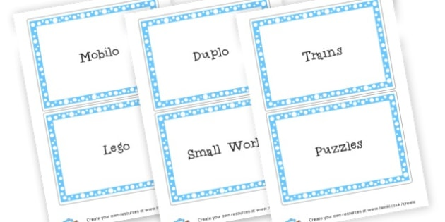 Classroom Toy Labels - Classroom Labels Primary Resources, book label, resource label, toys labeld