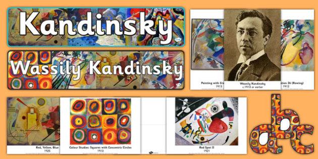 Wassily Kandinsky Artist Inspiration