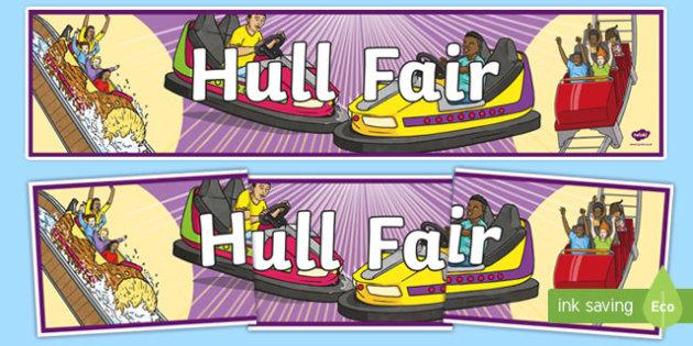 Hull Fair Display Banner - hull fair, display banner, display, banner, hull, fair