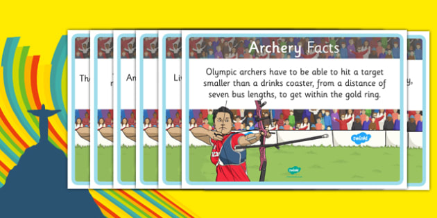 The Olympics Archery Display Facts - the olympics, 2016 olympics, rio olympics, rio 2016, archery, display facts