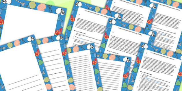 P Scale Science Activity Ideas For Tracking Progress P4 To P8