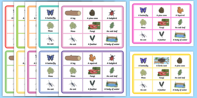 Nature Bingo Summer Activity Pack