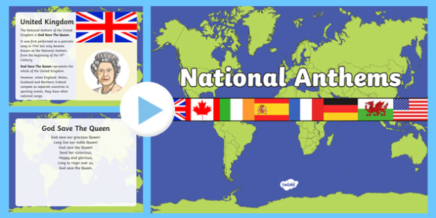 National Anthems PowerPoint