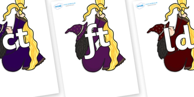 Final Letter Blends on Climbing Witches - Final Letters, final letter, letter blend, letter blends, consonant, consonants, digraph, trigraph, literacy, alphabet, letters, foundation stage literacy